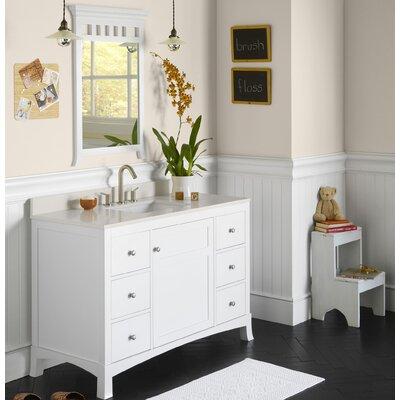 Hampton 48 Single Bathroom Vanity Set with Mirror