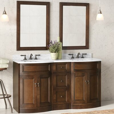 Marcello 24 Double Bathroom Vanity Set with Mirror