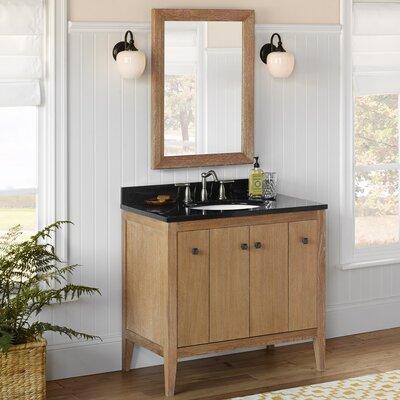Sophie 36 Single Bathroom Vanity Set with Mirror
