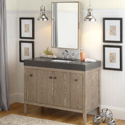 Sophie 48 Single Bathroom Vanity Set with Mirror