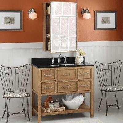 Newcastle 36 Single Bathroom Vanity Set with Mirror