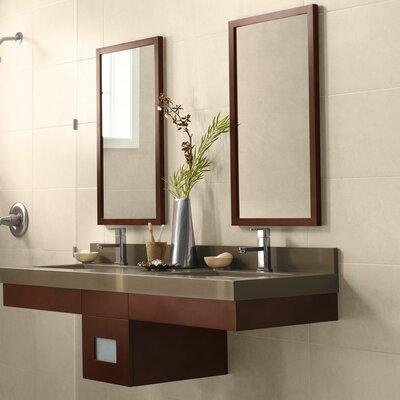 Adina 58 Double Bathroom Vanity Set with Mirror