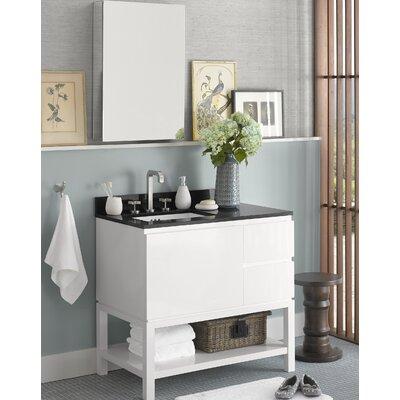 Chloe 36 Single Bathroom Vanity Set with Mirror