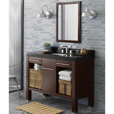 Brennon 48 Single Bathroom Vanity Set with Mirror