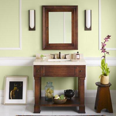 Palermo 36 Single Bathroom Vanity Set with Mirror