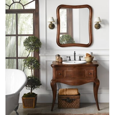 Corsica 36 Single Bathroom Vanity Set with Mirror