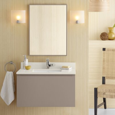 Ariella 31 Single Bathroom Vanity Set with Mirror