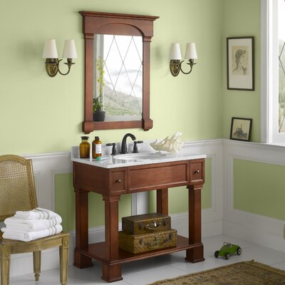Palermo 36 Single Bathroom Vanity Set with Mirror