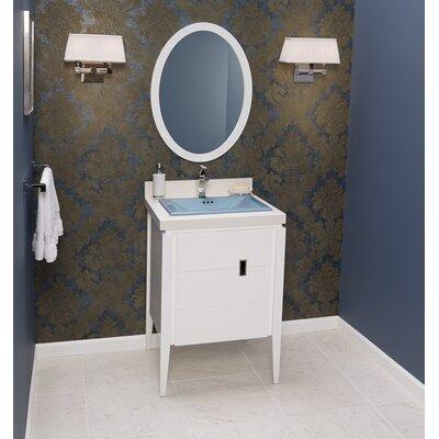 Zoe 24 Single Bathroom Vanity Set with Mirror