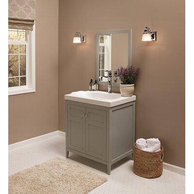 Briella 30 Single Bathroom Vanity Set with Mirror