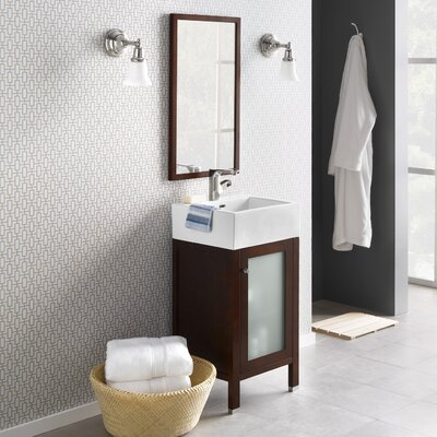 Cami 18 Single Bathroom Vanity Set with Mirror