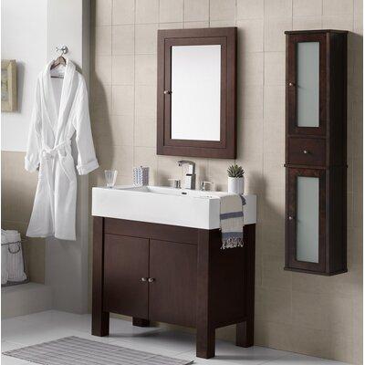 Devon 36 Single Bathroom Vanity Set with Mirror