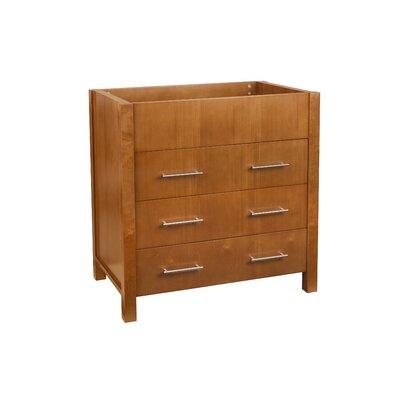 Kali 31 Bathroom Vanity Base Cabinet in Cinnamon