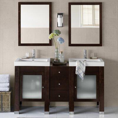 Devon 59 Double Bathroom Vanity Set