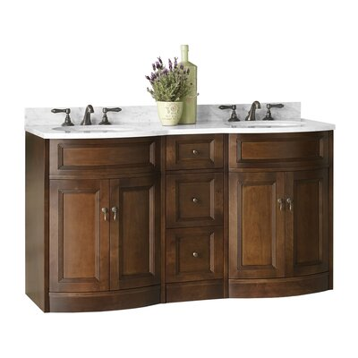 Marcello 61 Double Bathroom Vanity Set