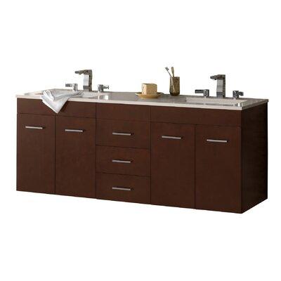 Bella 62 Double Bathroom Vanity Set