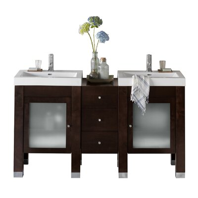 Devon 60 Double Bathroom Vanity Set