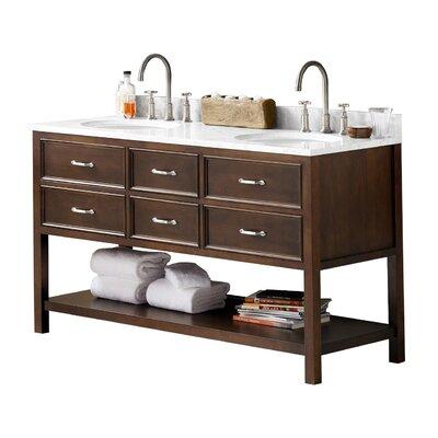 Newcastle 61 Double Bathroom Vanity Set