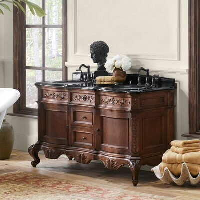 Bordeaux 60 Double Bathroom Vanity Set