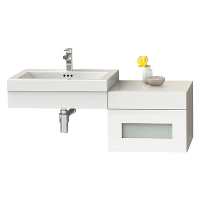 Adina 61 Double Bathroom Vanity Set