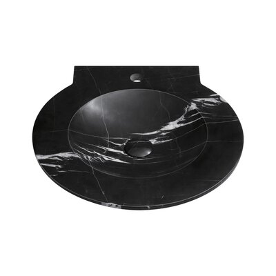 Signature WaterSpace Circular Self Rimming Bathroom Sink