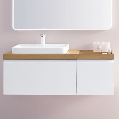 Free 20 Wall Mounted Single Bathroom Vanity Set