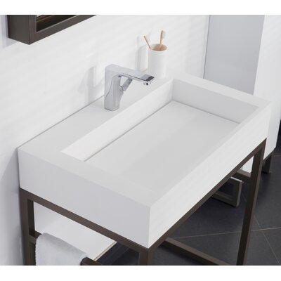 Signature Marco Rectangular Vessel Bathroom Sink