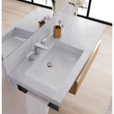 Signature Rectangular Wall Mount Bathroom Sink