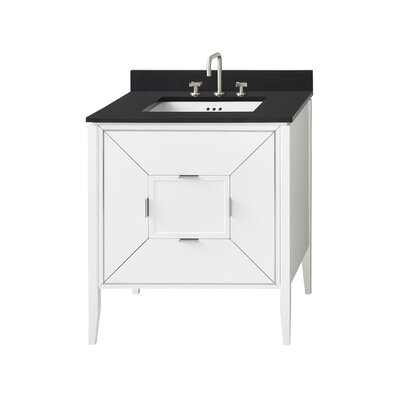 Amora 30 Single Bathroom Vanity Base Base Finish: White