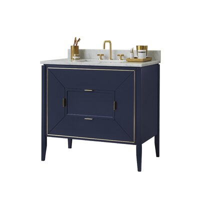 Amora 36 Single Bathroom Vanity Base