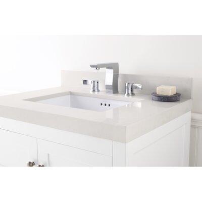 Appeal Undermount 31 Single Bathroom Vanity Top