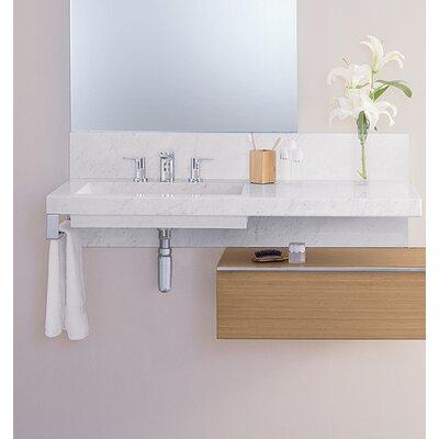 Signature Rectangular Wall Mount Bathroom Sink