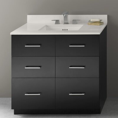 Lassen 36 Single Bathroom Vanity Base