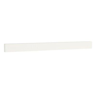TechStone 48 Backsplash in Solid White