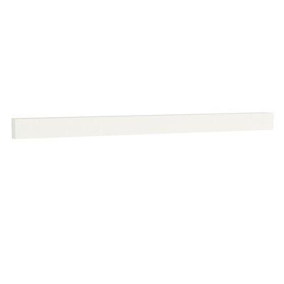TechStone 59 Backsplash in Solid White