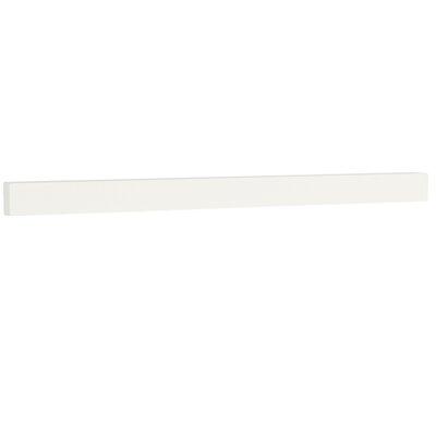 TechStone 62 Backsplash in Solid White