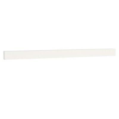 TechStone 65 Backsplash in Solid White