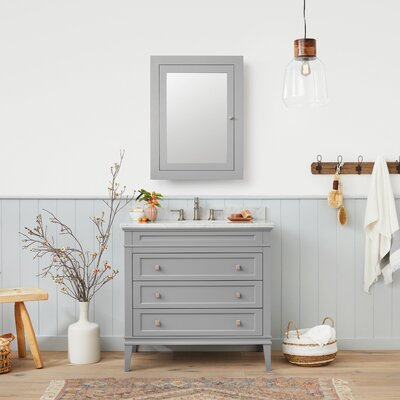 Laurel 36 Single Bathroom Vanity Set