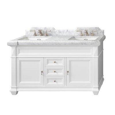 Torino 60 Double Bathroom Vanity Set