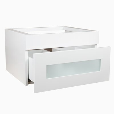 Rebecca 23 Single Bathroom Vanity Base Finish: Glossy White