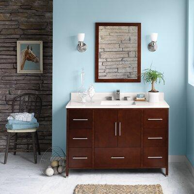 Juno 48 Single Bathroom Vanity Set with Mirror