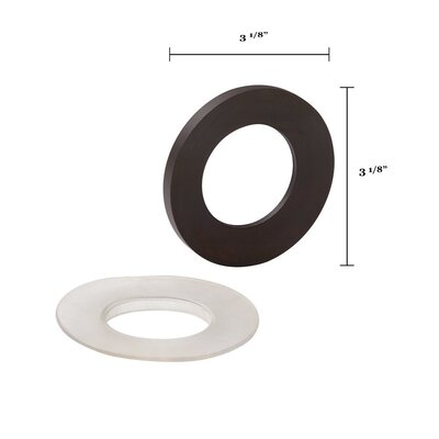 Mounting Ring for Glass Vessel Bathroom Sinks Finish: Rubbed Bronze