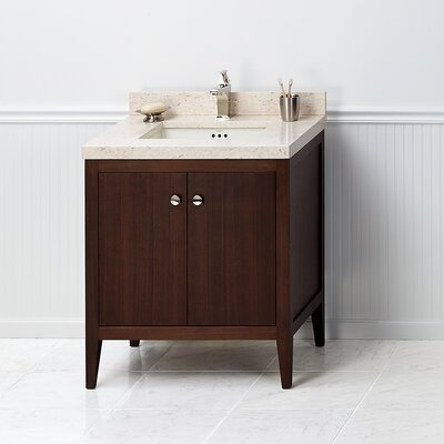 Sophie 30 Single Bathroom Vanity Base Base Finish: American Walnut