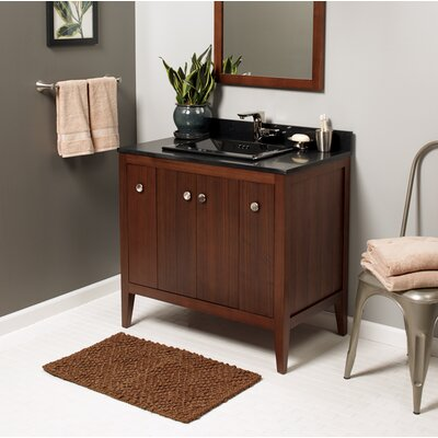 Sophie 36 Single Bathroom Vanity Base Base Finish: American Walnut