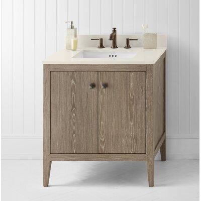 Sophie 30 Single Bathroom Vanity Base Base Finish: Aged Oak