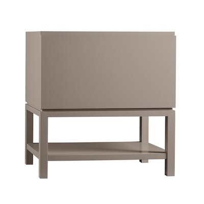 Jenna 31 Single Bathroom Vanity Base Finish: Blush Taupe