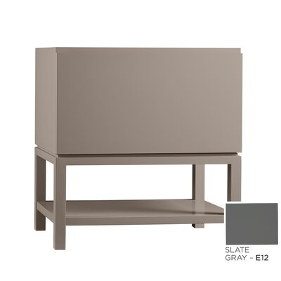 Jenna 31 Single Bathroom Vanity Base Finish: Slate Gray