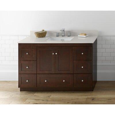 Shaker 48 Single Bathroom Vanity Base
