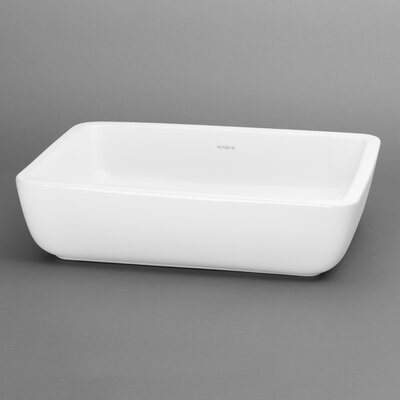 Mod Rectangular Vessel Bathroom Sink