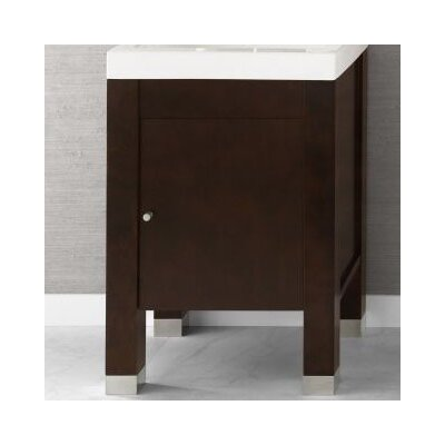 Devon 23 Bathroom Vanity Base Cabinet in Vintage Walnut
